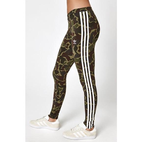 3a99bfb6b31d79 adidas Pants | Camo Leggings | Poshmark